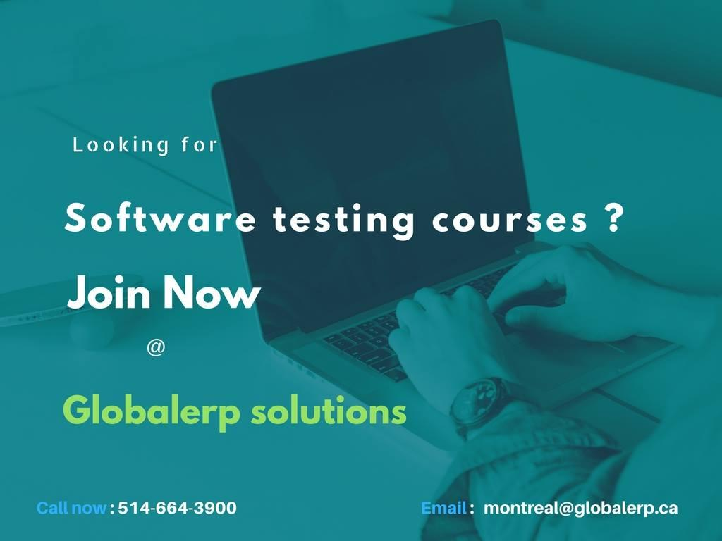 QA-Software Testing/Manual/Automation Training