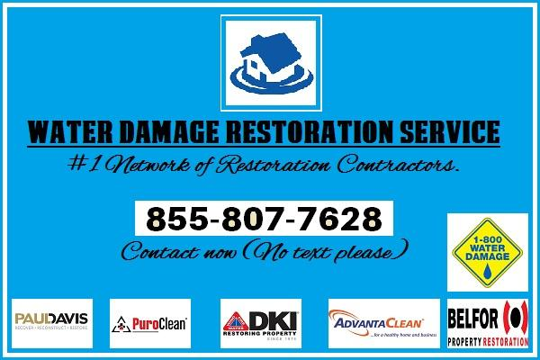 Water and Flood Damage Repair Services.