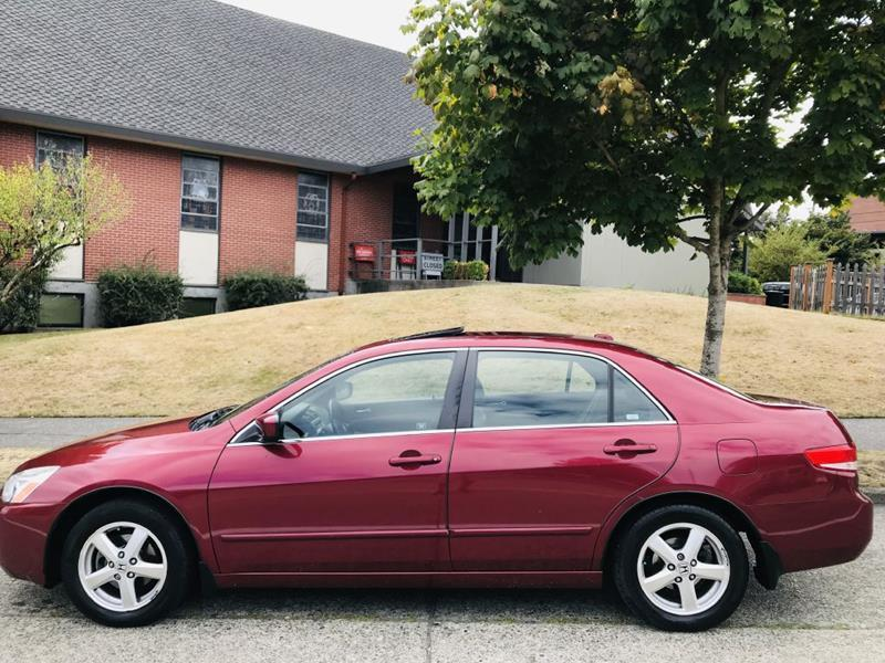 Honda Accord EX Red  miles