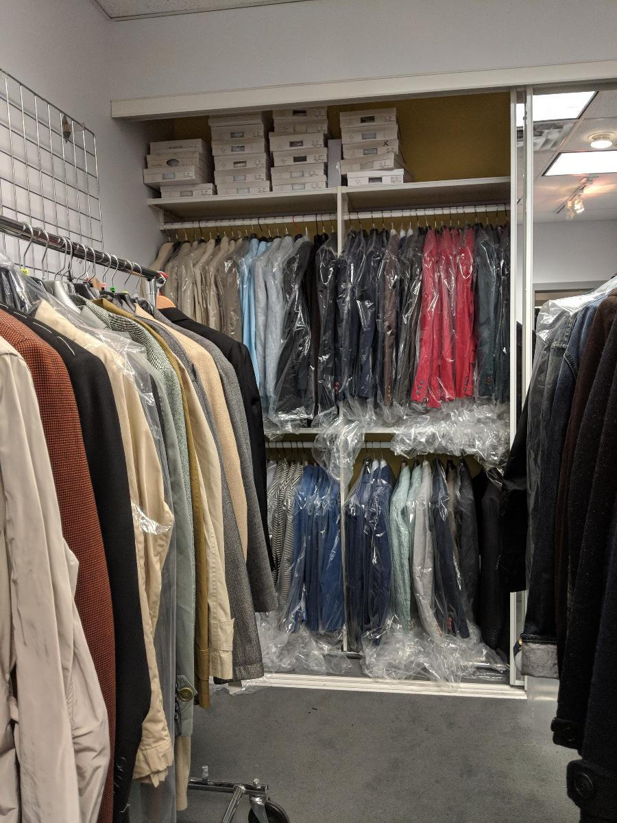 Italian Menswear shop Closing Down Sale
