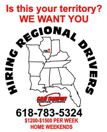 Looking for Class A CDL Truck Drivers