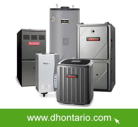 96% AFUE Furnace 17 SEER Air Conditioner Rent to Own NO