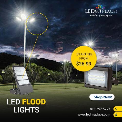 Get the Best Light By Installing LED Flood Light