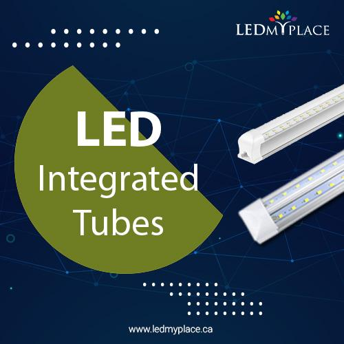 Bright your Parking Lots By Using LED Integrated Tube Light