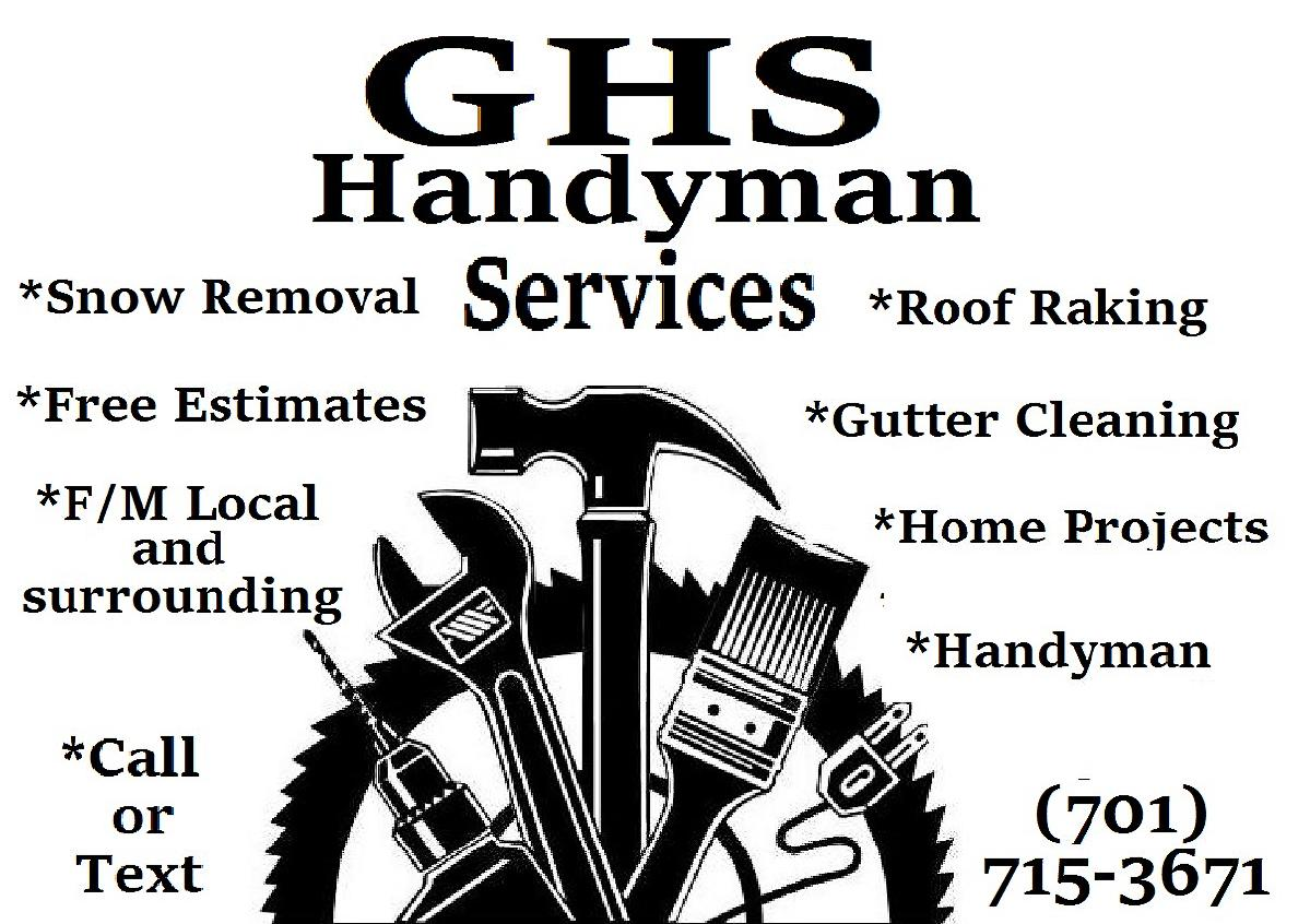 Handyman Services Gutters/Snow/More