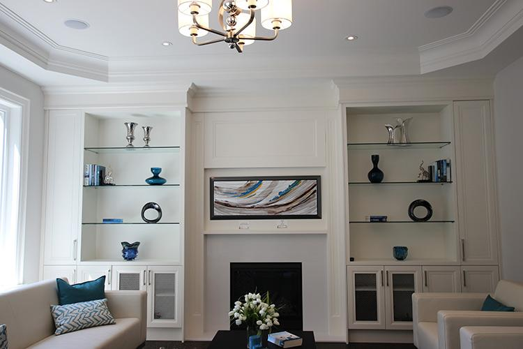 Add Custom Built-In Wall Units to Your Living Spaces
