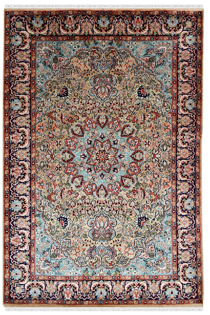 Traditional Persian Moori Handknotted Area Rug