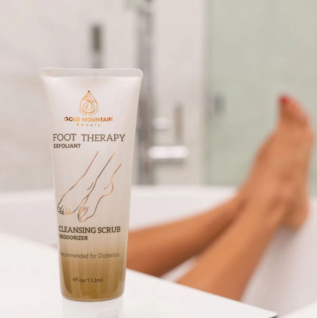 Buy Best Natural Foot Cleaning Scrub At Gold Mountain Beauty