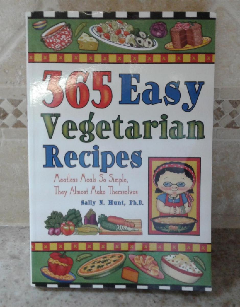 365 EASY VEGETARIAN RECIPES BOOK