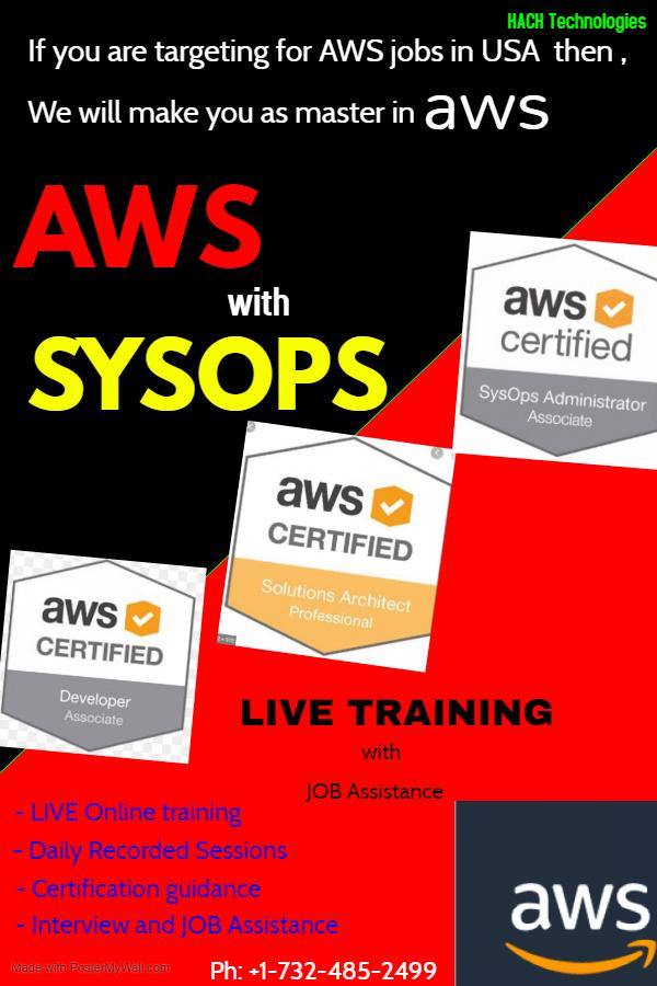 AWS Online Courses With Job Assistance