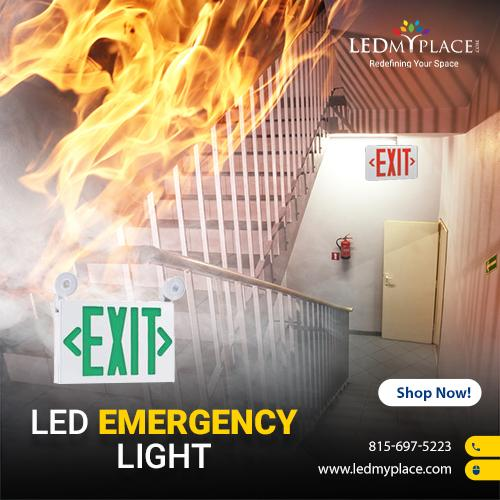 LED Emergency Lights For Hospitals, Office and Commercial