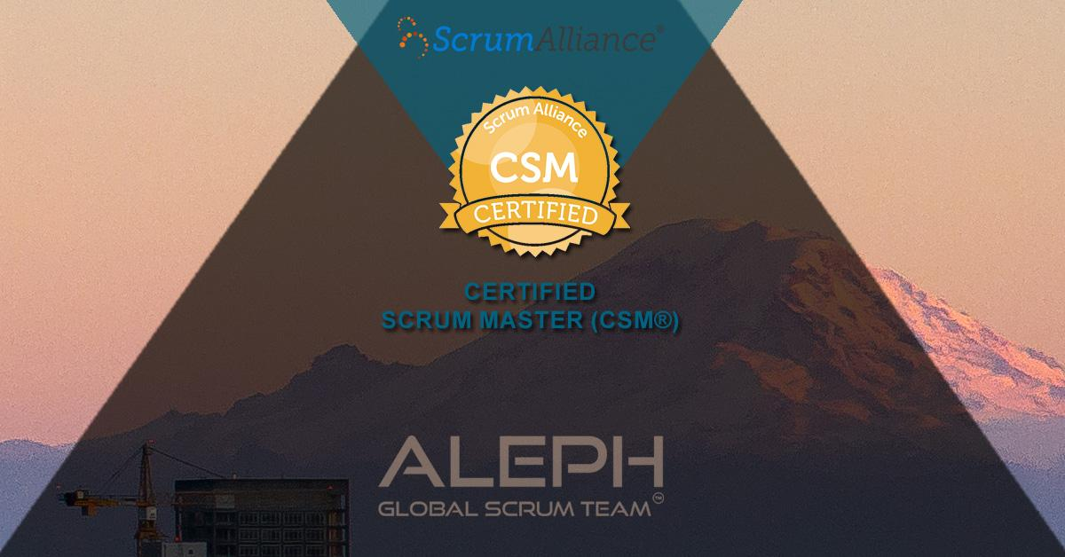 Scrum Master Certification (CSM) Certification Course- Aleph