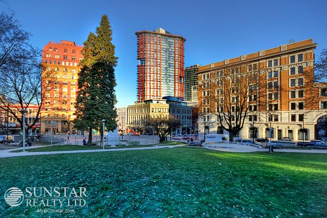 Gastown 2 Bedroom Condo w/ Unobstructed Views @ Woodward's