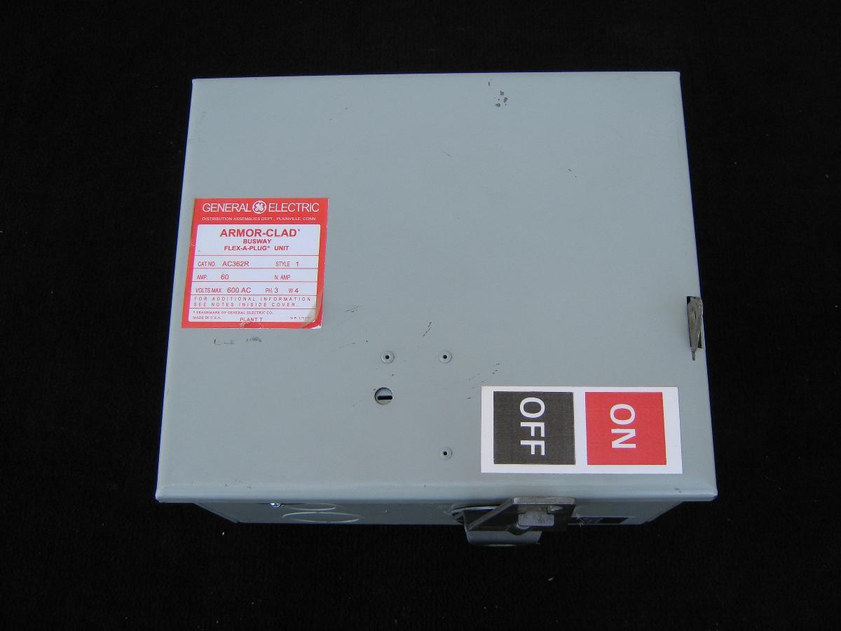 General Electric, Armor Clad Busway Flex A Plug Unit