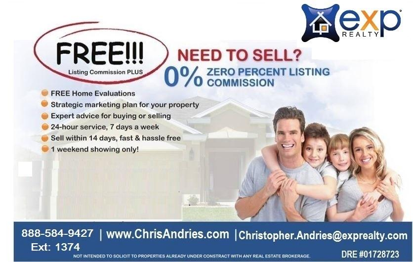 0% Realtor Commission To Sell Your Home