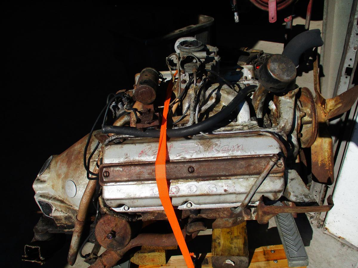 Dodge Red Ram Engine