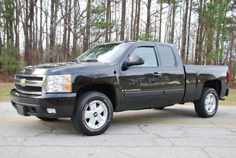 Chevrolet Silverado  Black Pickup Truck  Miles