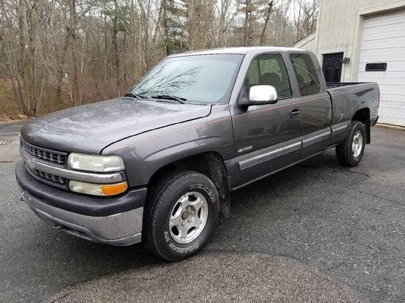Chevrolet Silverado  Gray Pickup Truck  Miles