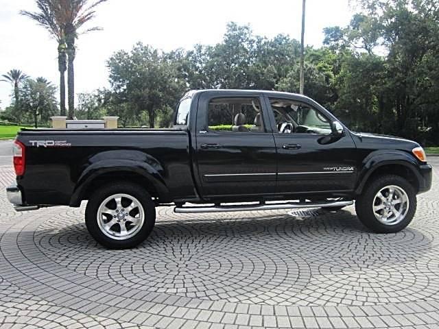 Toyota Tundra Black Pickup Truck  Miles
