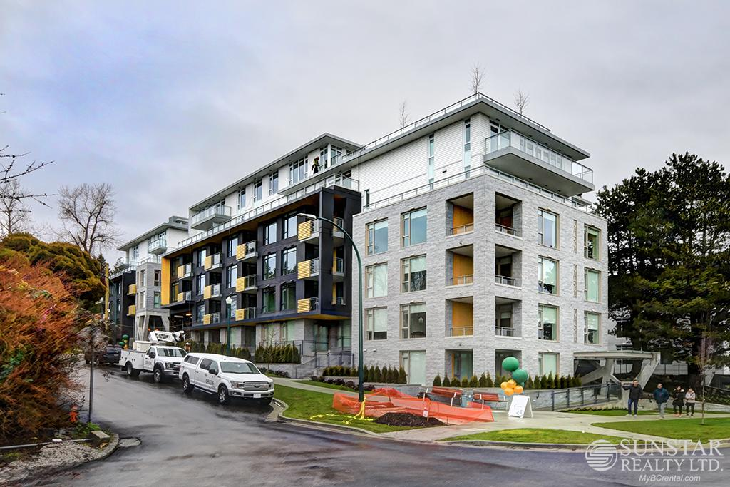 South Cambie Brand New 1 Bed + Den Condo w/ Balcony @