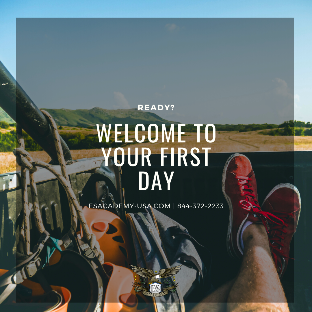 E & S Academy – Welcome to Your First Day!