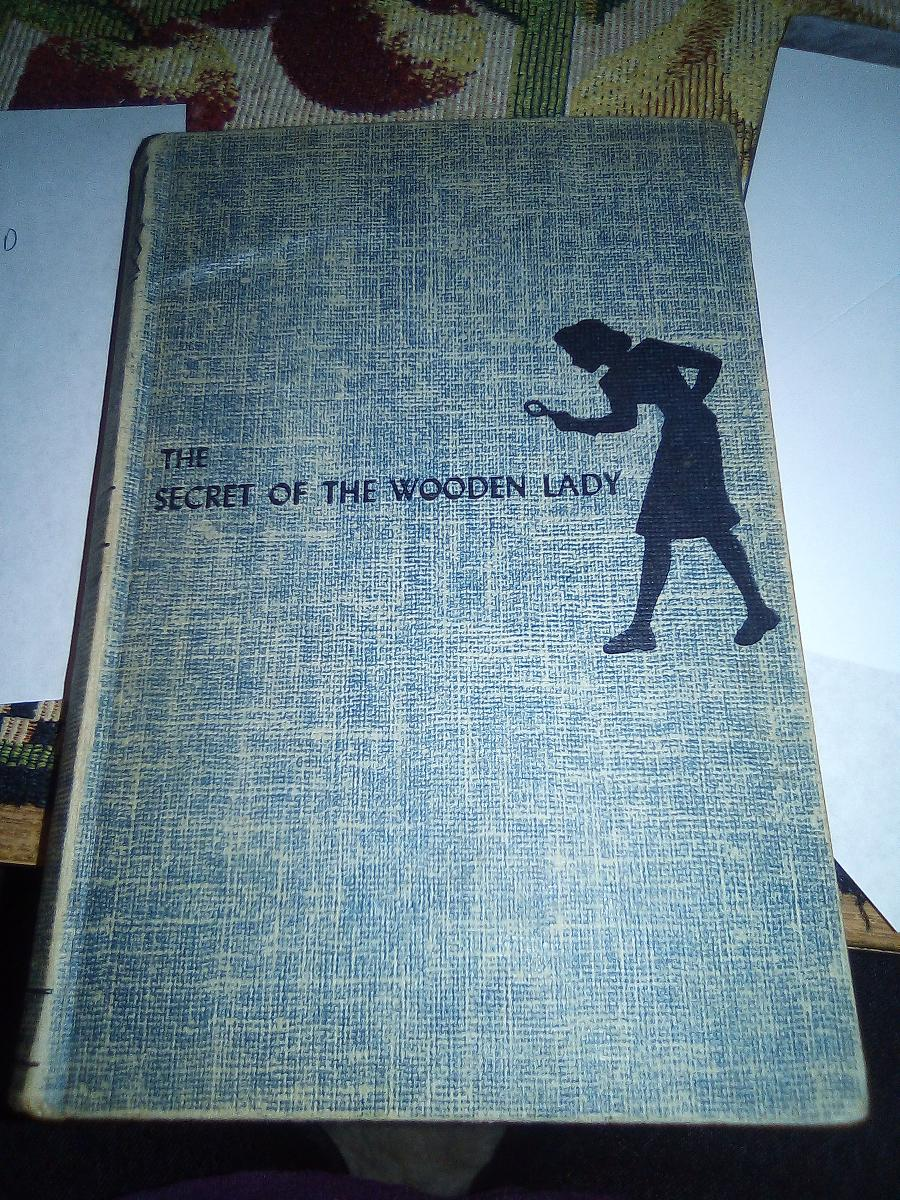 Nancy drew the secret of the wooden lady first edition