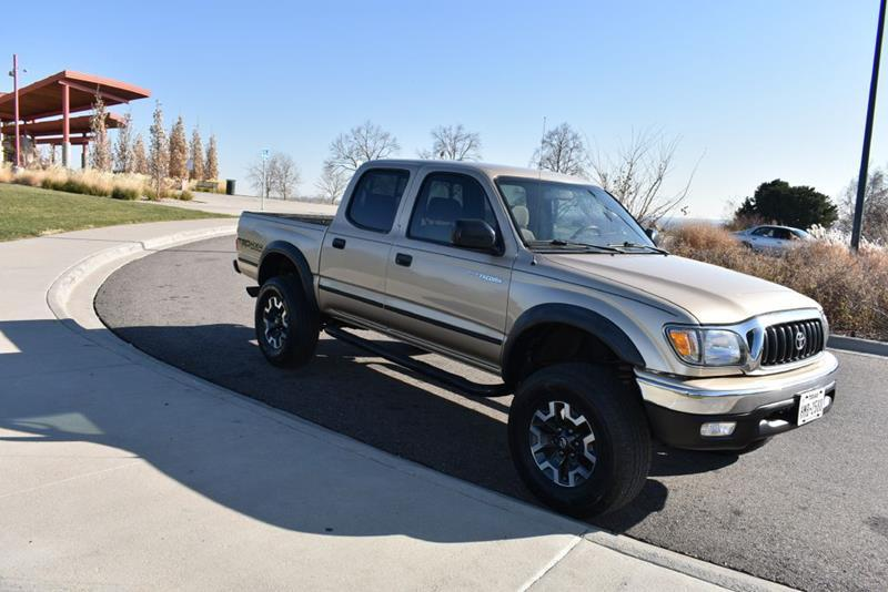 Toyota Tacoma Gold Pickup Truck  Miles 4dr