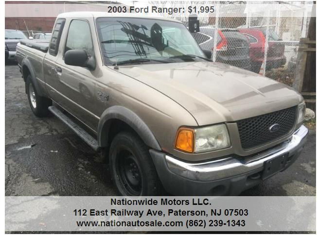 Ford Ranger Edge 4dr SuperCab 4WD SB $