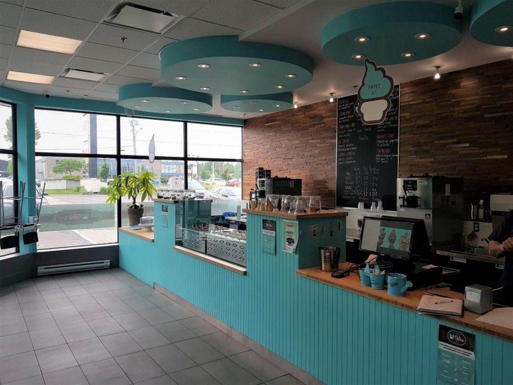 Blainville Ice cream parlour franchise La DIPERIE for sale