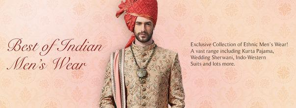Indian Wedding Dresses For Men-Nihal Fashions