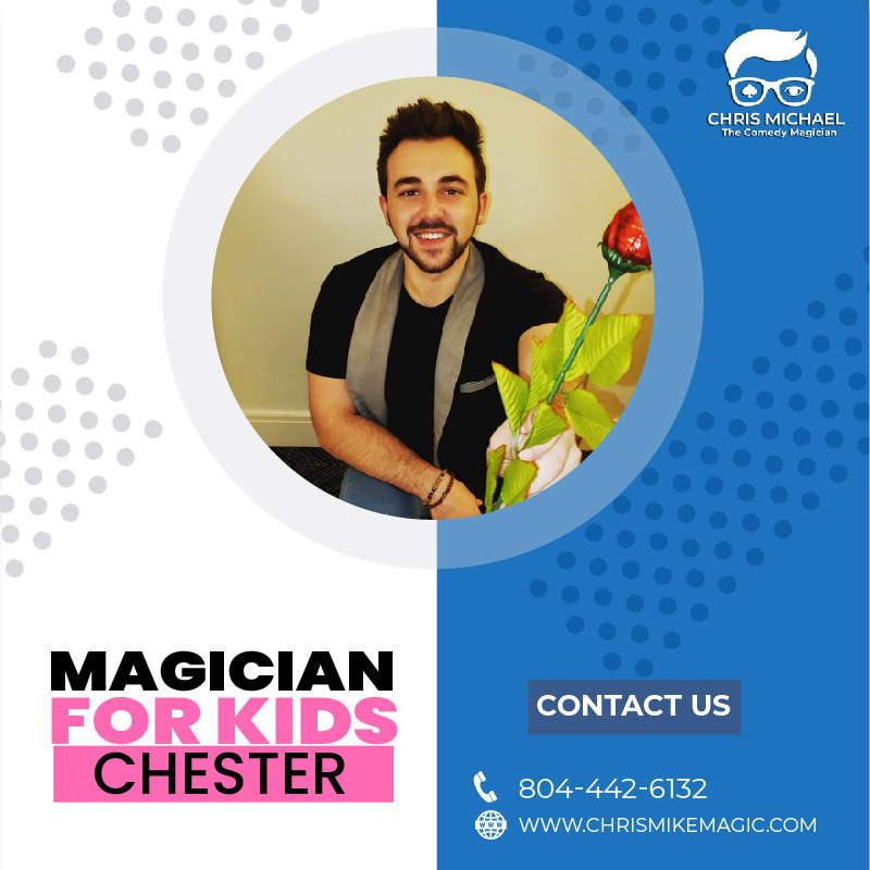 Hire Best Magician For Kids Chester