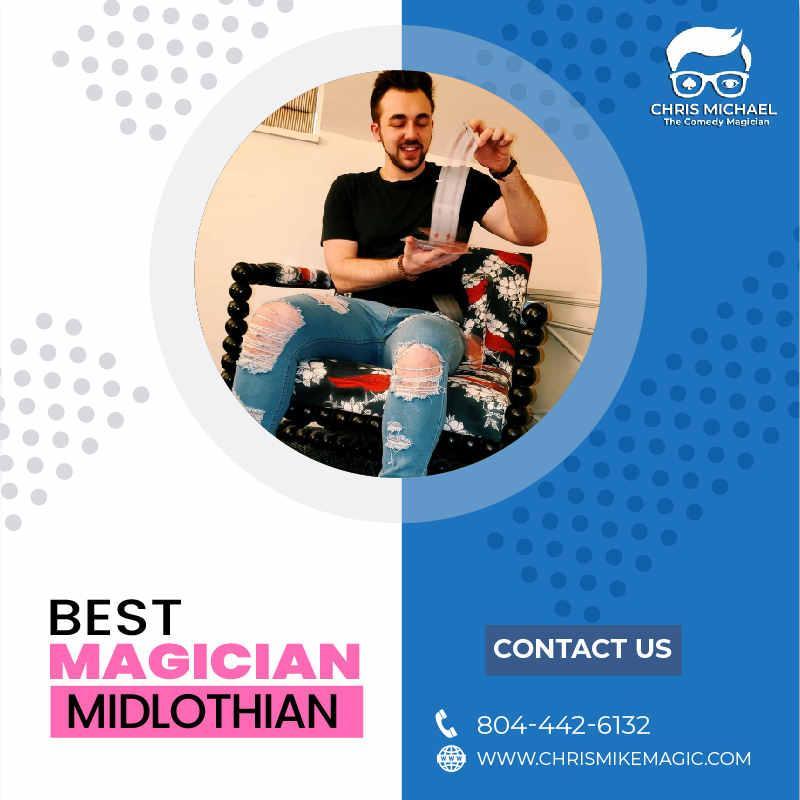 Hire Best Magician in Midlothian