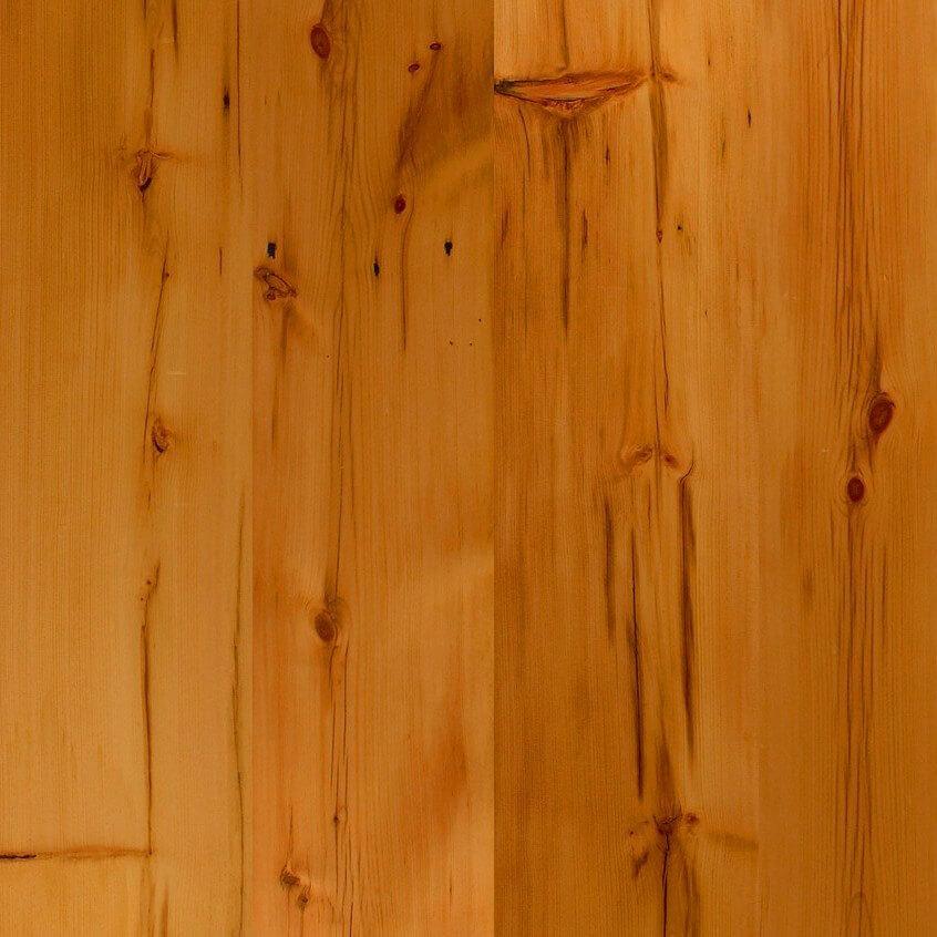 Antique White Pine and Antique American Oak