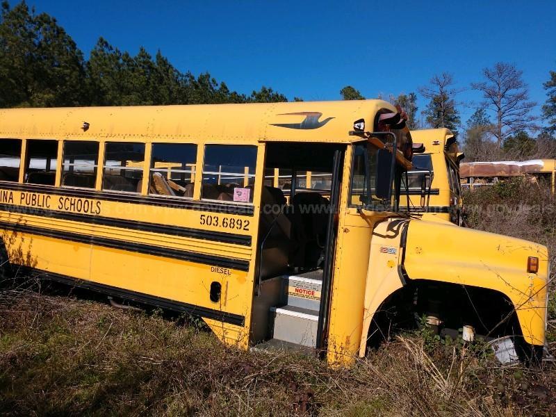 Lot of Junk/Scrap School Buses (50 total)