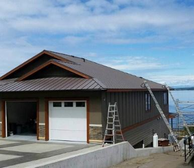 One of the best Metal Siding Contractor in Courtenay