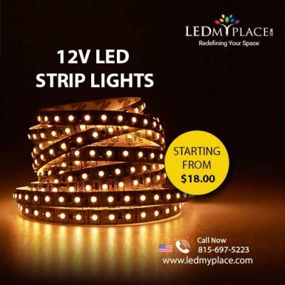 Purchase 12V LED Strip Lights at Discounted Price