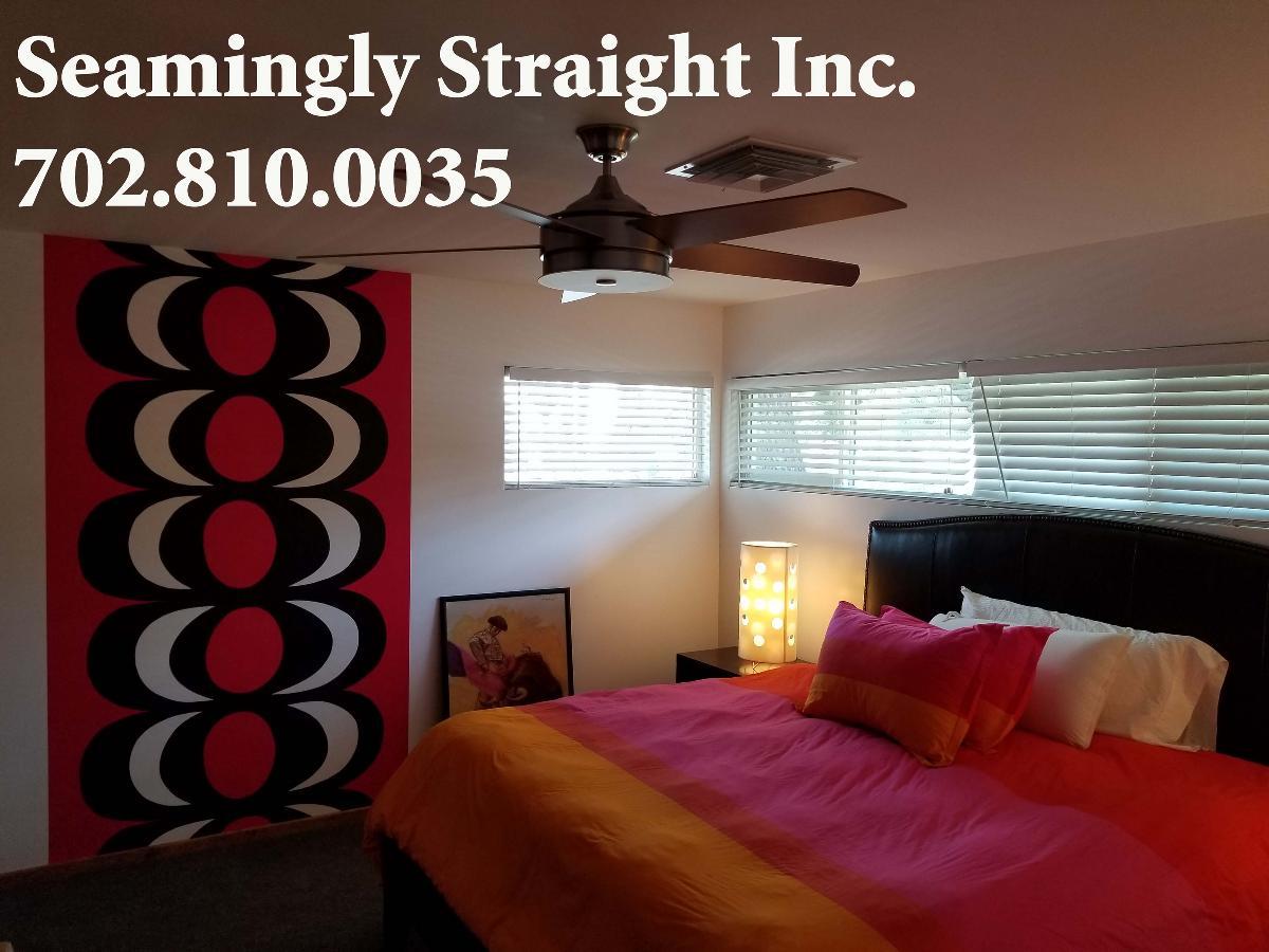SEAMINGLY STRAIGHT, INC. Las Vegas Wallpaper Installer,