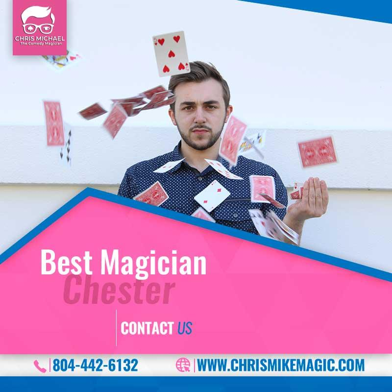 Best Magician Chester in Pennsylvania