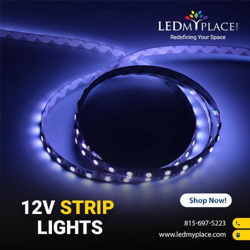 Best Waterproof 12V Strip Lights From LEDMyplace
