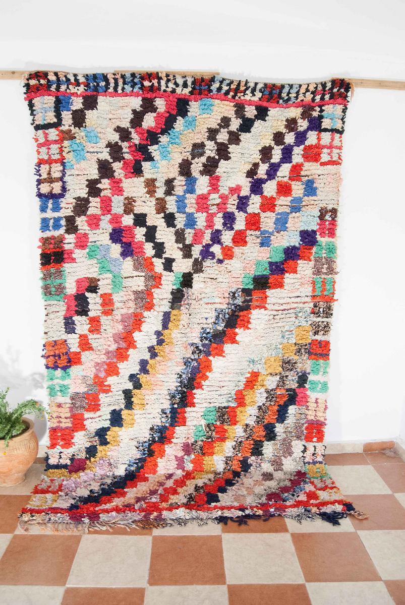 Get Beautiful Boucharouite Rug In Morocco At WeBerber