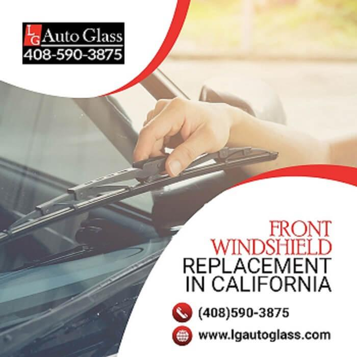 Hire Front Windshield Replacement in California.
