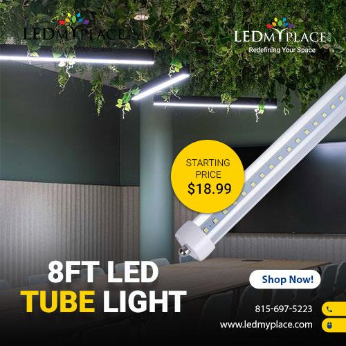 Illuminate Your Indoor Areas By Using 8ft LED Tube Light
