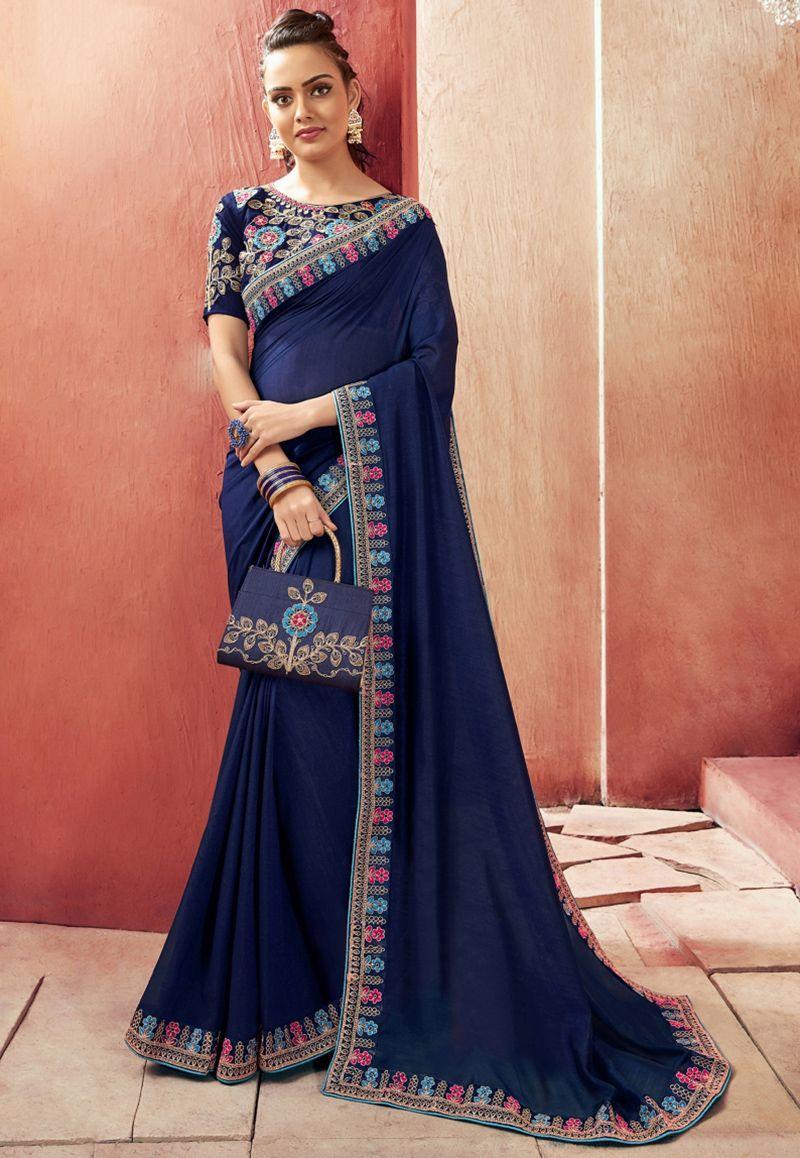 Latest saree designer