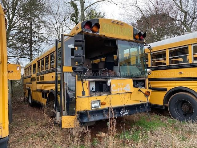 Lot of Junk/Scrap School Buses (38 total)