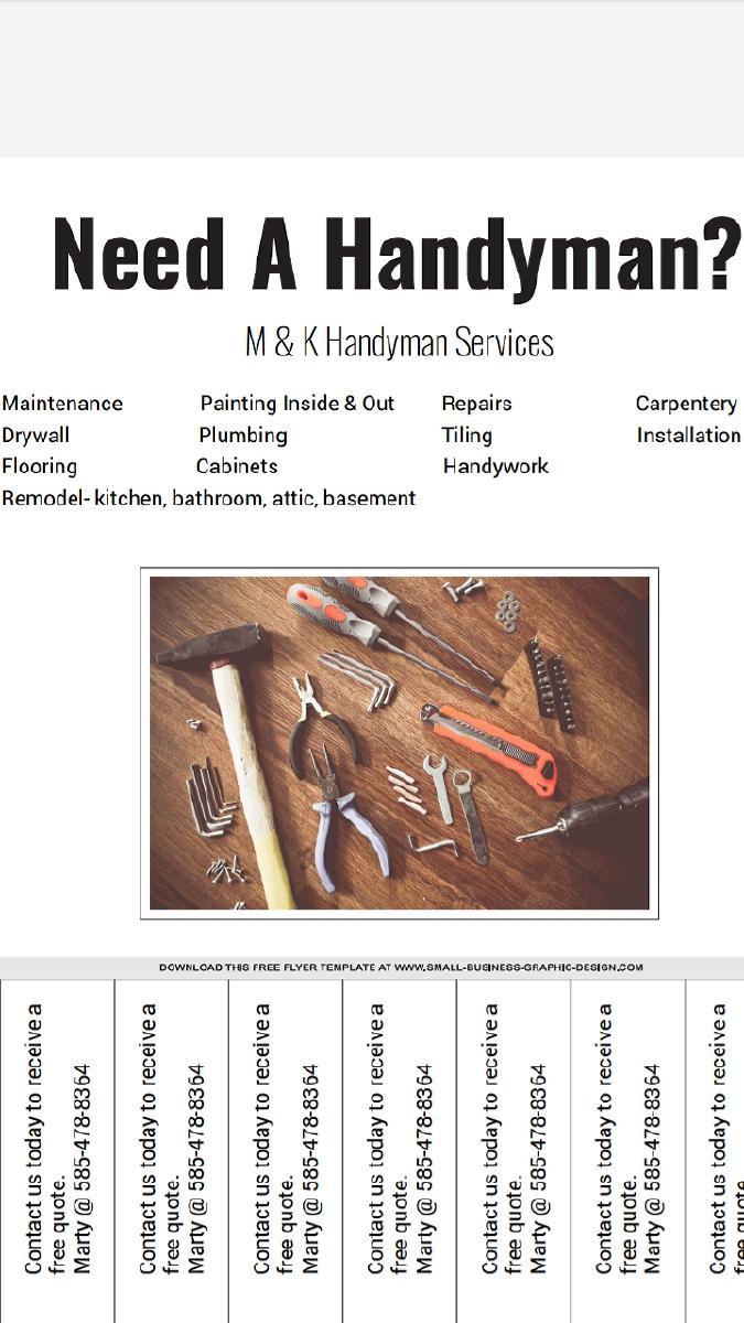 M&K Handyman Services