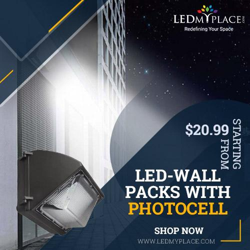 Best LED Wall Packs With Photocell For Your Outdoor