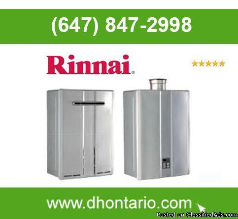 Rinnai Tankless Water Heater Rent to Own Program