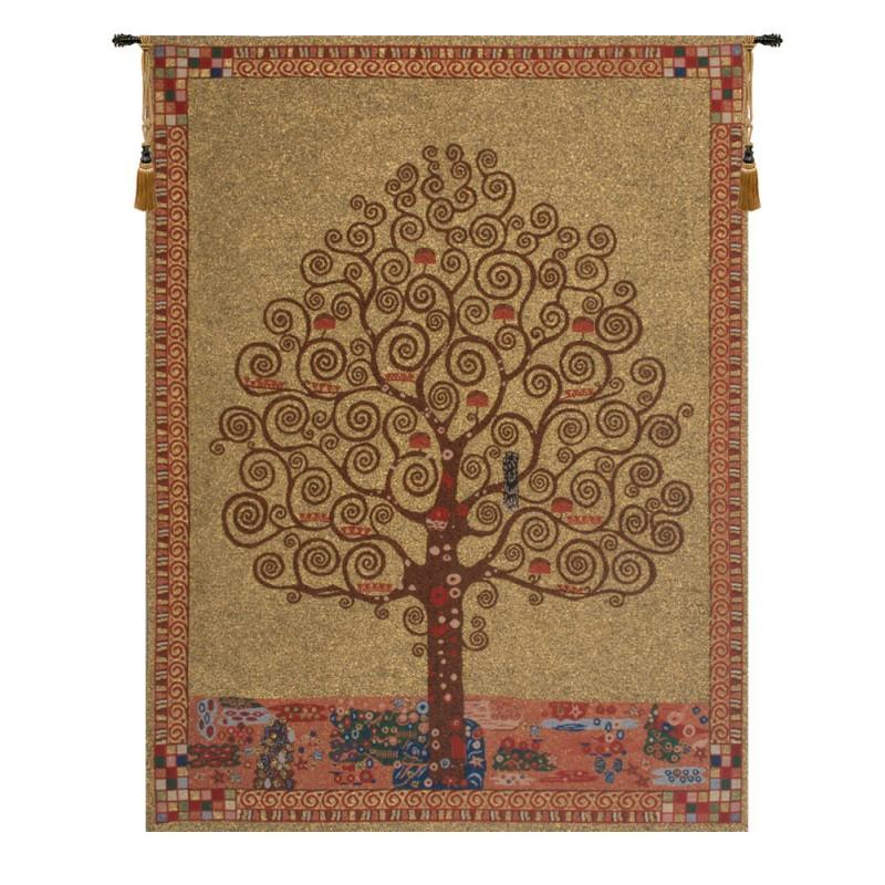 KLIMT'S TREE OF LIFE BELGIAN TAPESTRY