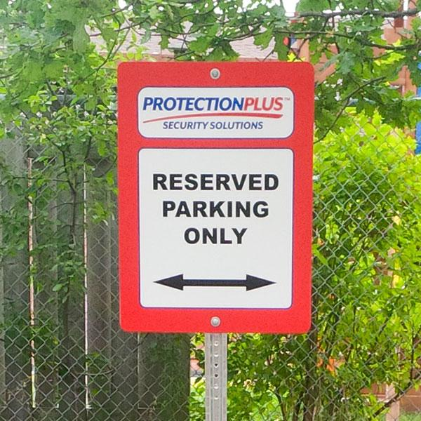 Finding for Custom Parking Signs at Sign Source Solution