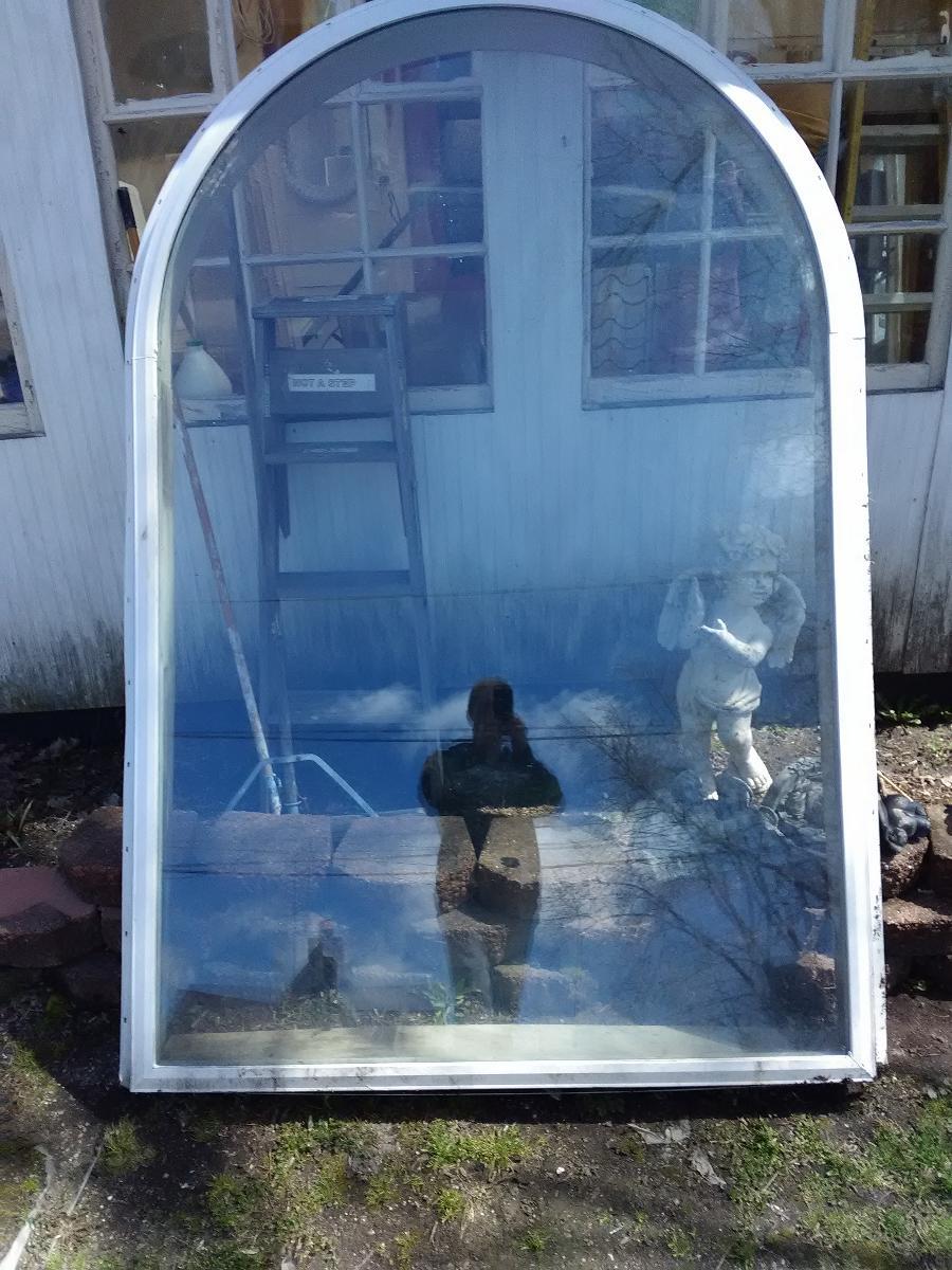 8ft glass window